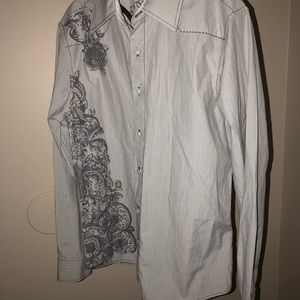 191 UNLIMITED M button down shirt